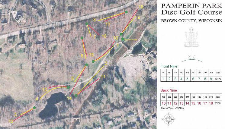 Pamperin Park  Professional Disc Golf Association