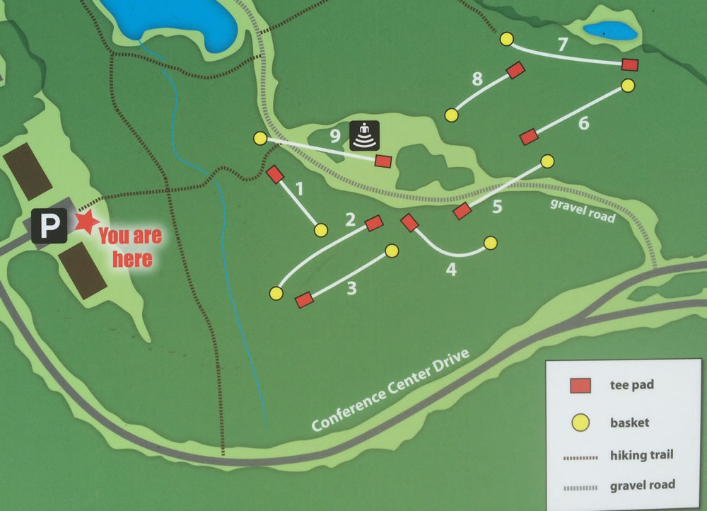 Haw River Nc Map.Haw River State Park Nature Trail Disc Golf Professional Disc Golf