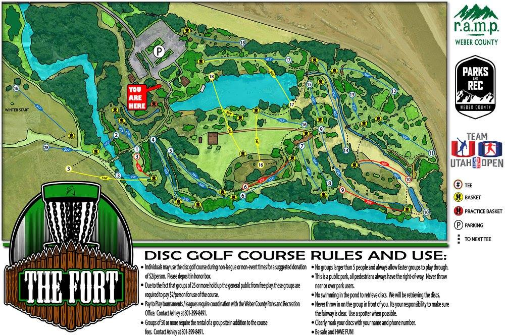 The Fort Buenaventura | Professional Disc Golf ociation Golf Map on golf packages, modern art map, volleyball map, golf holidays, us road map, civilization world map, golf tours, golf real estate, football soccer map,