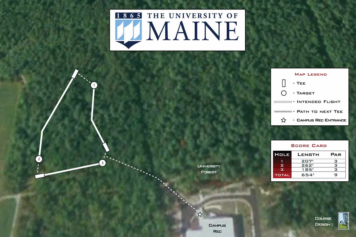 University Of Maine Professional Disc Golf Association