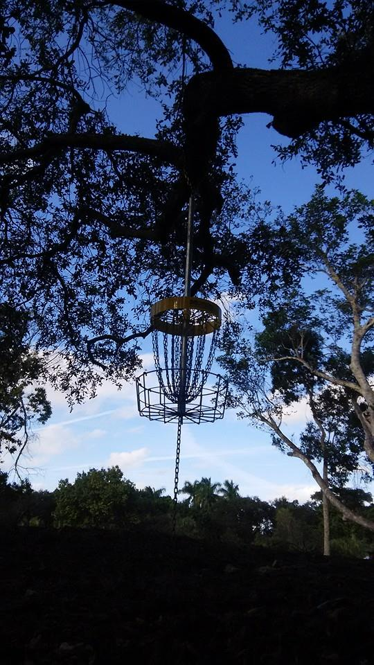 The Jet Stream Disc Golf Course at Snyder Park