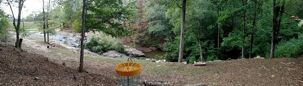 The Don Shannon Disc Golf Course at Dundee Lake