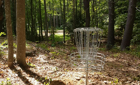Smuttynose Brewing Disc Golf Course