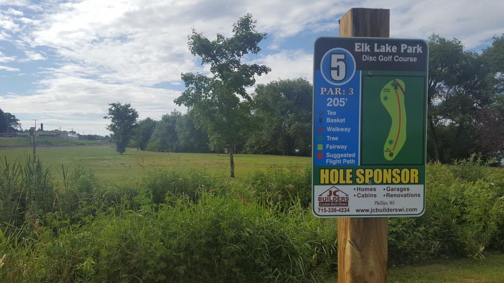 Elk Lake Park Disc Golf Course