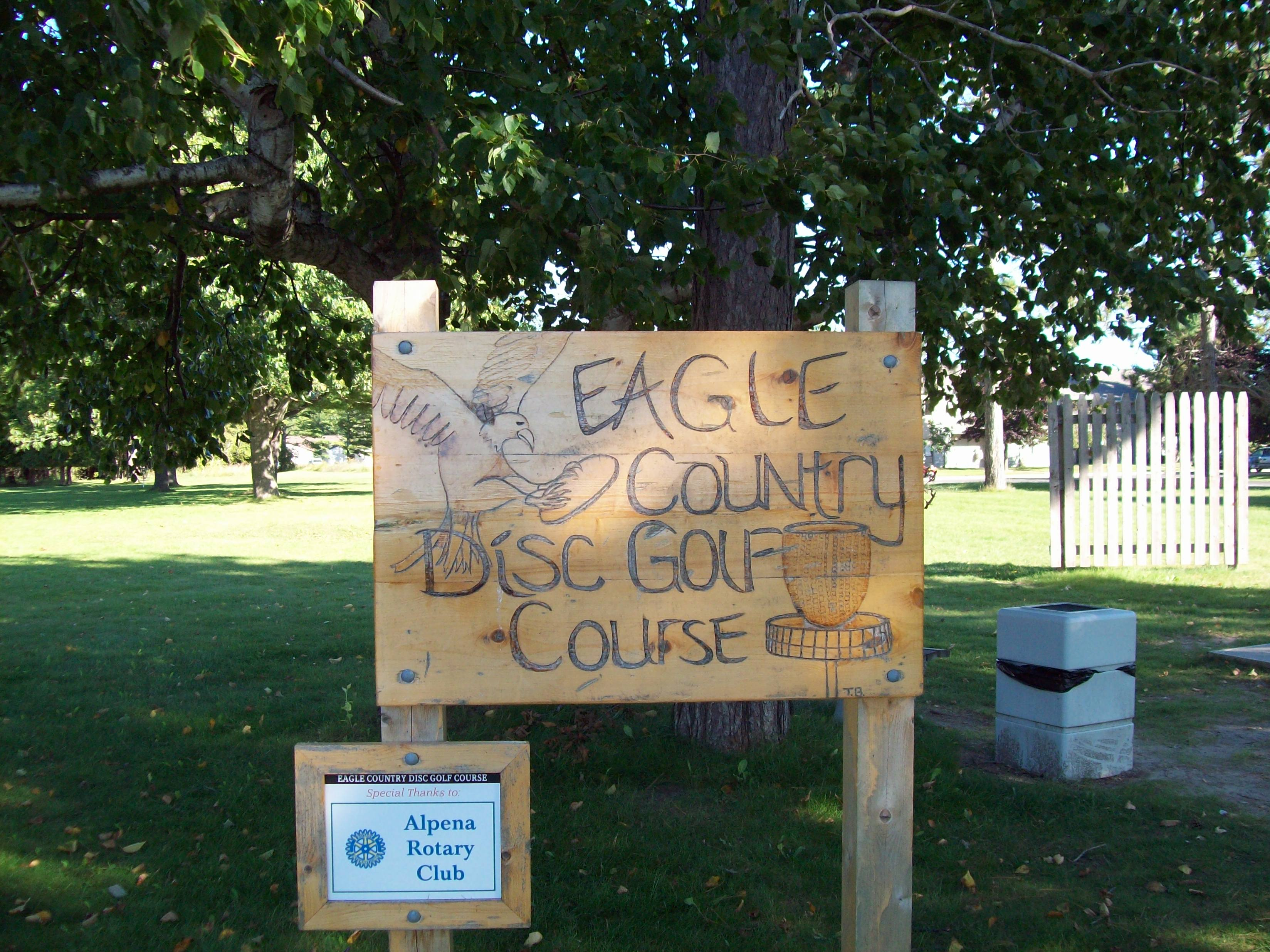 Eagle Country Disc Golf