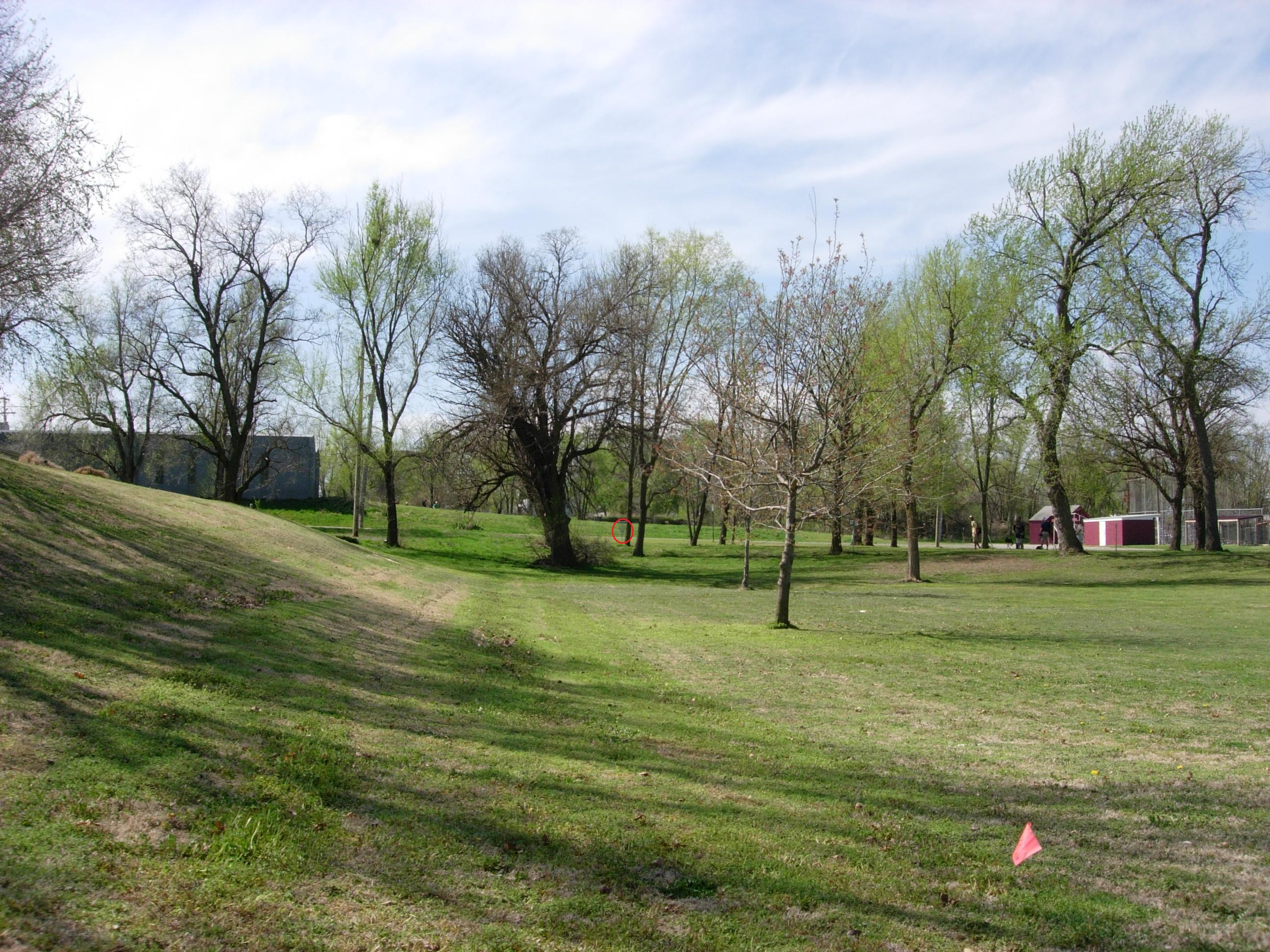 Herington Disc Golf Course at Father Padilla Memorial Park