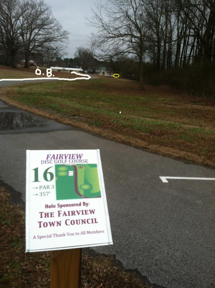 Fairview Park Disc Golf Course