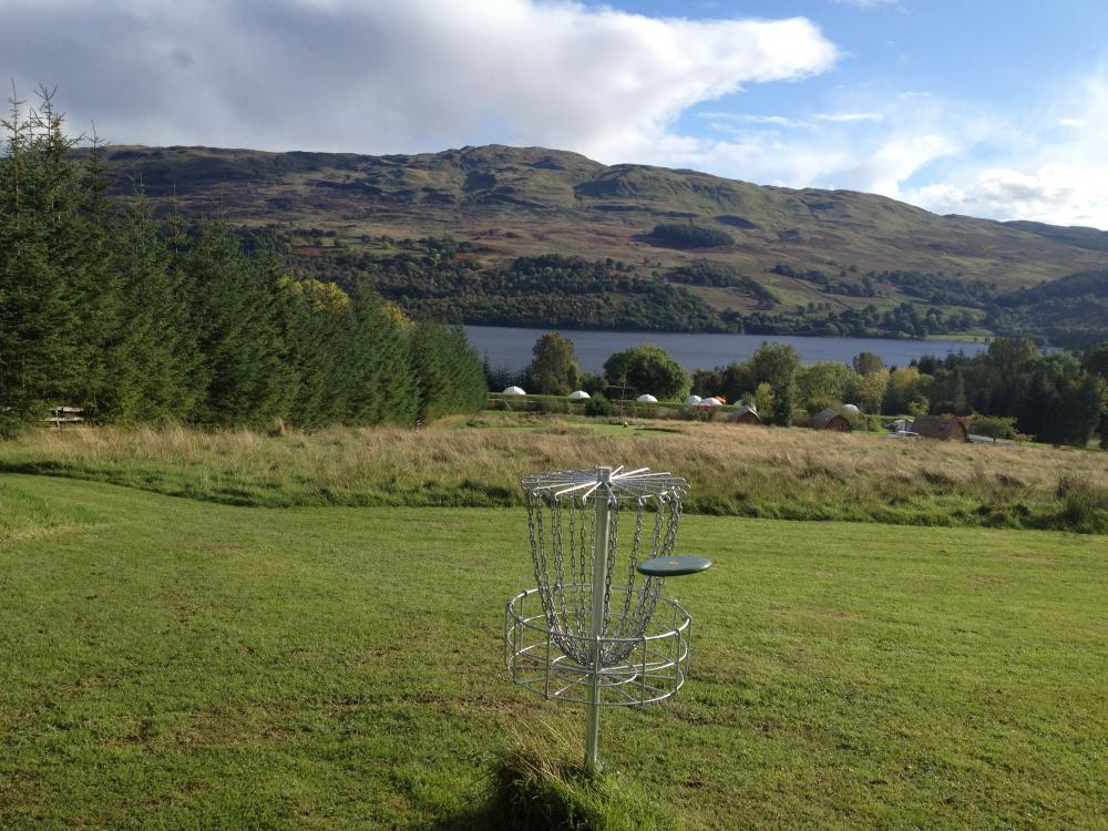 Loch Tay Disc Golf Course at Highland Lodges