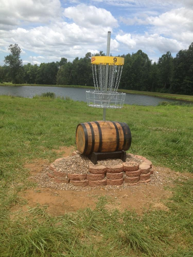 Myer Creek Disc Golf Course - Yellow