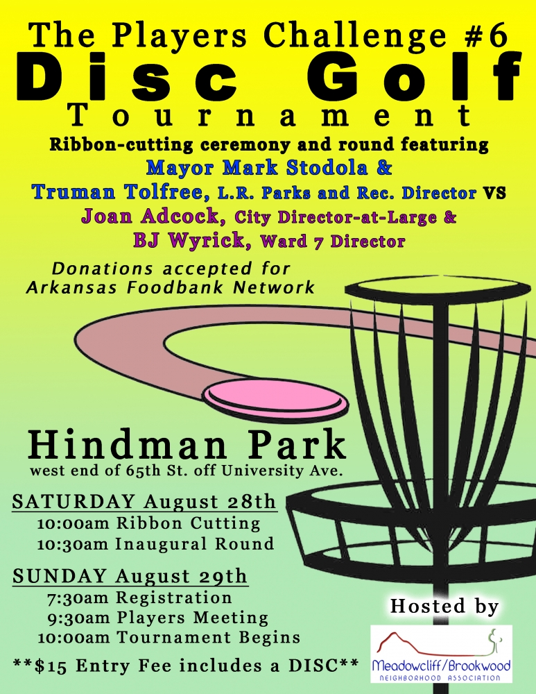 Grand Opening of Hindman Disc Golf Course