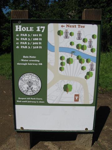Rocklin Disc Golf Course at Johnson Springview Park
