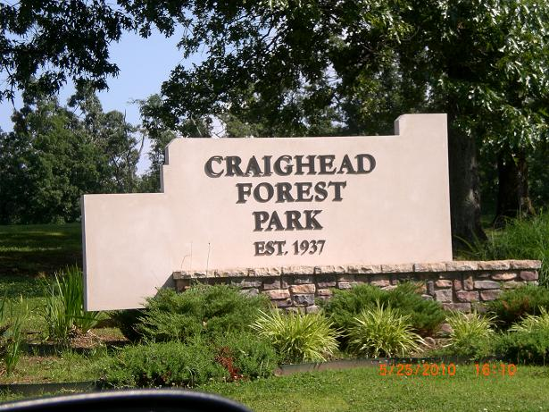 Craighead Forest Disc Golf Course - Main