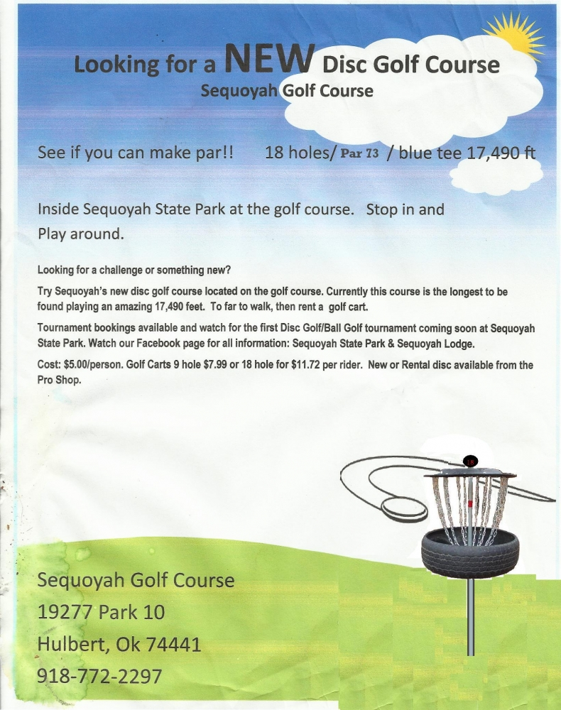 Sequoyah State Park Golf Course