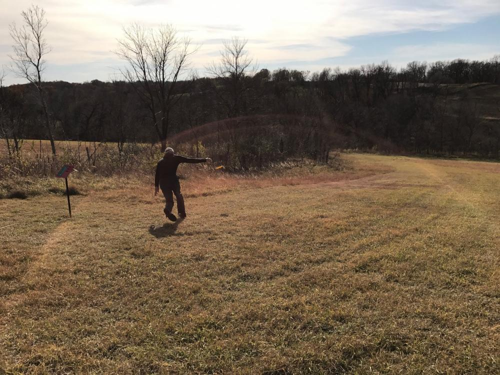 Indian Cave State Park Disc Golf Course