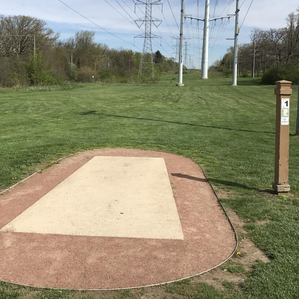 Castaldo Park Disc Golf Course