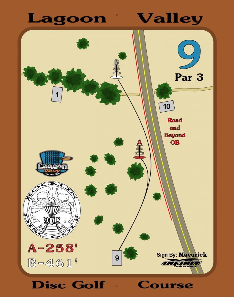 Lagoon Valley Disc Golf Course