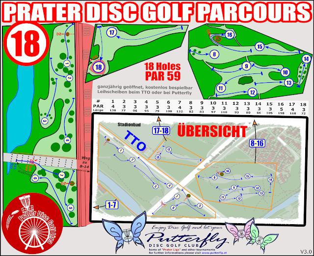 Wiener Prater Disc Golf Parcours
