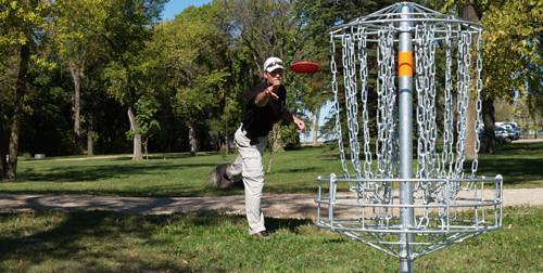 Providence College Disc Golf Course