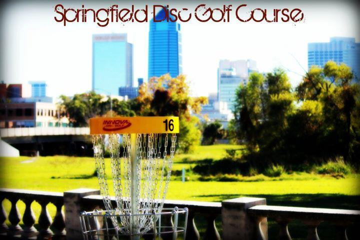 Springfield Disc Golf Course at Klutho Park