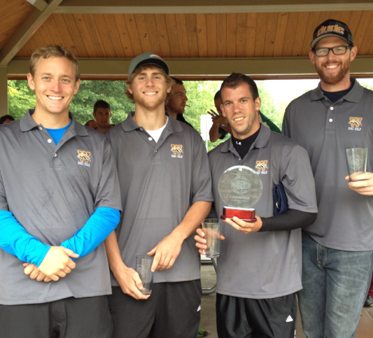 Photo of the Great Lakes Collegiate Open Champions, Western Michigan University