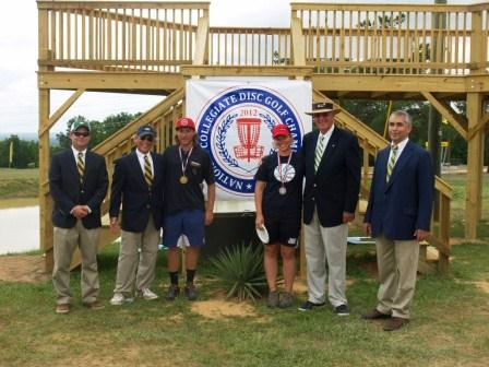 2012 NCDGC Medalists