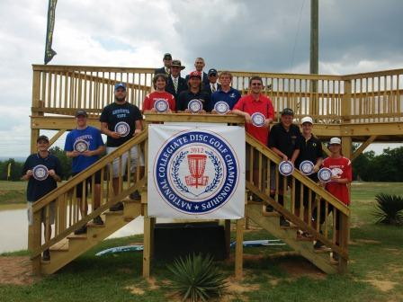 2012 NCDGC Men's First Team All-Americans