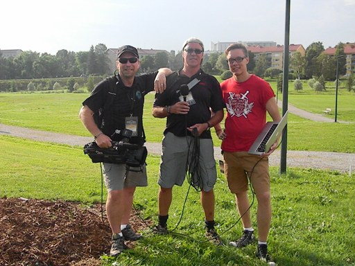 dgplanettv crew at 2011 EO